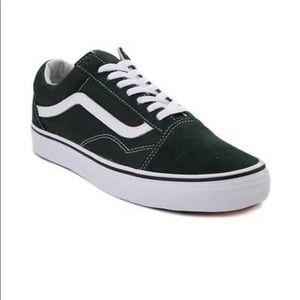 Vans Old Skool scarab suede Green Sneaker Shoes